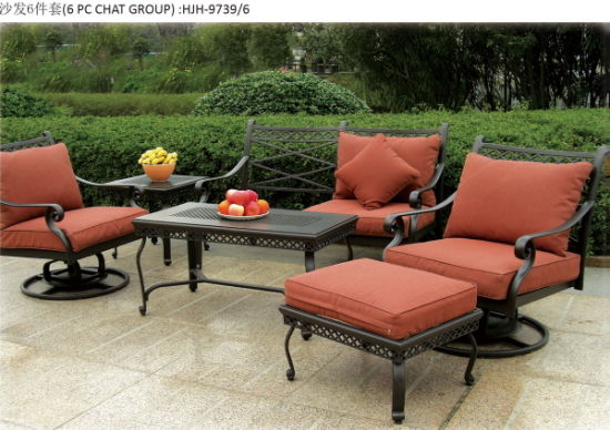 Cast Aluminum Sofa Outdoor Sofa Garden Furniture Hotel Furniture pictures & photos