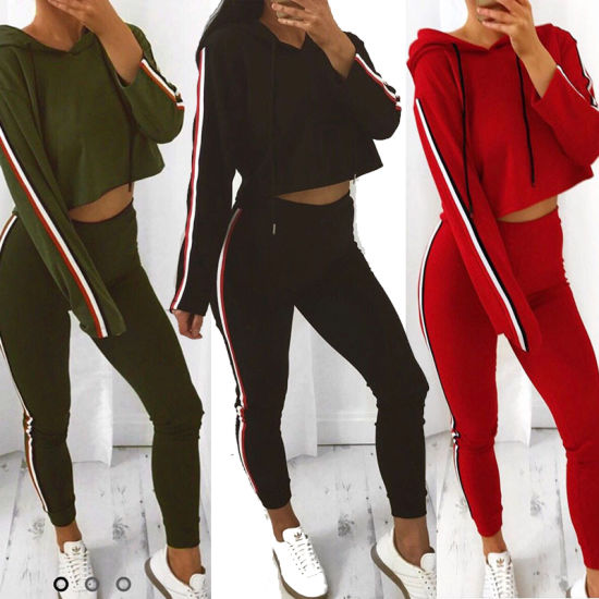 Newest Autumn Women's Sexy Tracksuit