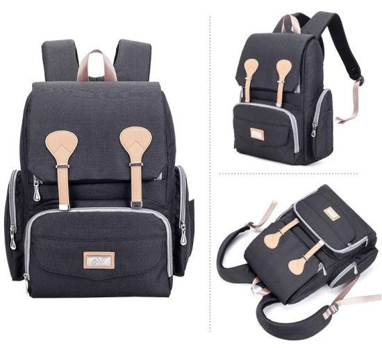 Fashion Nappy Bag Shoulder Baby Backpack Water Repellent Mommy Bag
