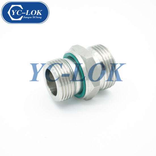 Chinese Factory 24 Degrees Bsp Male Cone Seat Fittings