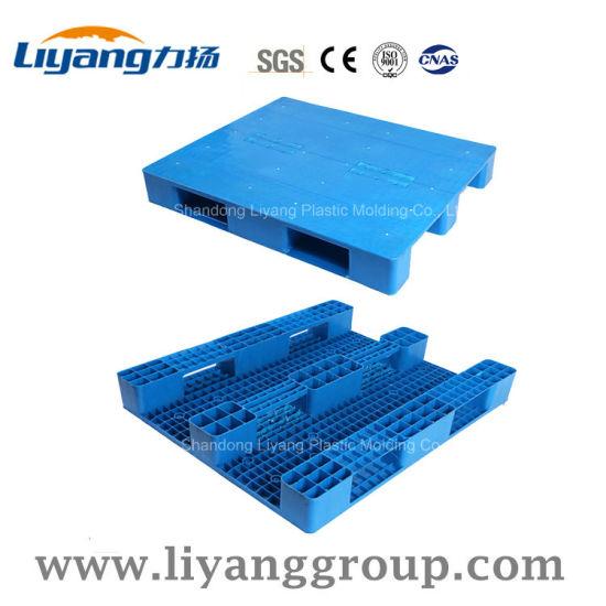 1200X1000mm PP/PE Flat Heavy Duty Plastic Pallets for Petrochemical Industries