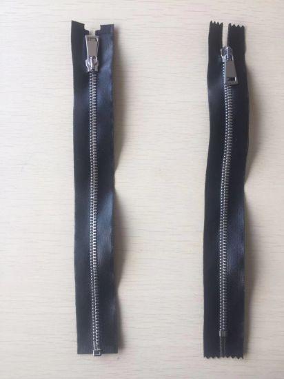 Fashion PU Leather Zipper Open-End Close-End 25cm