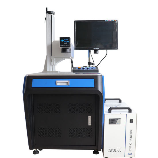 Superfine Marking Machine Laser Machine/Desktop UV Laser for Package Industry/UV Laser Engraving Machine for Cosmetics/Pharmacy/Electronics/Silver/Jewelry/Gifts