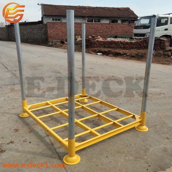 Hot DIP Galvanized Metal Stillages Steel Storage Pallet Converter Rack with Removable Posts