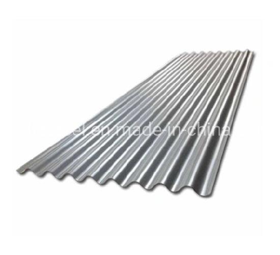 PPGI Gi Corrugated Metal Roofing 16 Gauge Galvanized Steel Sheet