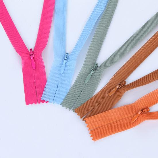 Hot Sale 3# Invisible Nylon Zipper
