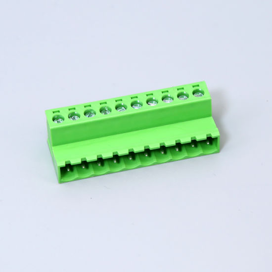 5.08mm Terminal Block Connector with Screw Male Right Angle Type