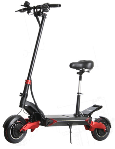 EEC Approved Mountain Cross-Country Electric Scooter with D