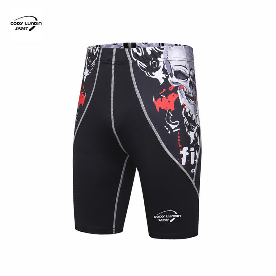 Cody Lundin Wholesale Bodybuilding MMA Short Manufacturers Custom Mens Blank Gym Wear Men Shorts