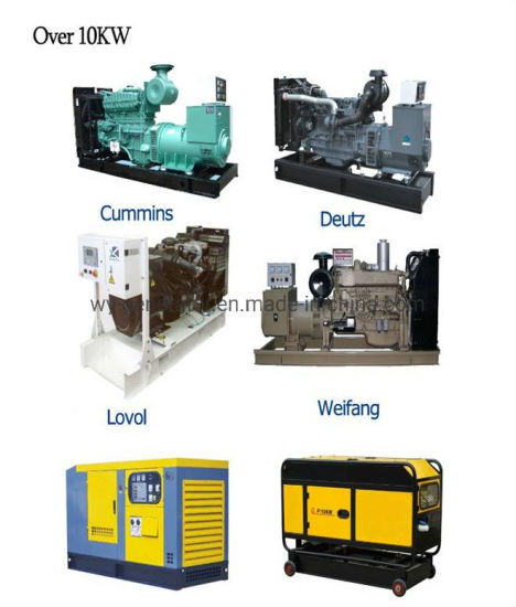 Yangdong Generator 15 or 20 kVA Diesel Engine Stanford Alternator 3 Phases