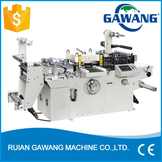 Program Control High Efficiency Label Sheet Die Cutting and Slitting Machine for Sale