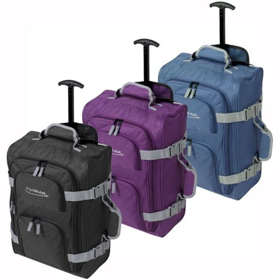 Large Capacity Rolling Trolley Travel Bags for Man