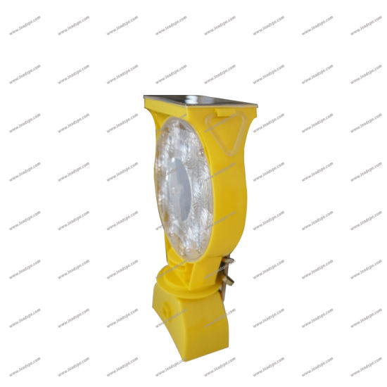 Polycarbonate and Polypropylene Solar Barricade Lights