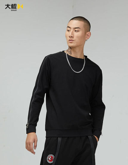 Chinese Famous Brand Dakun Young Style Popular Round Collar Hoody