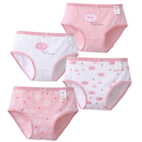 Sports Wear Girl Soft Cotton Underwear Little Kids Pants Teenage Sexy Lingerie Girl Underwear