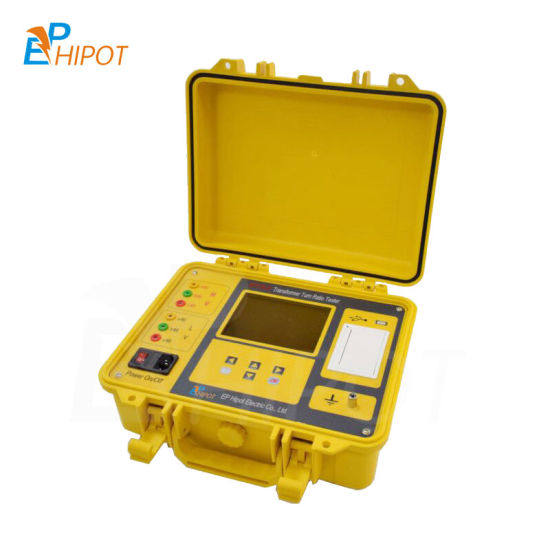 Hot Sale Low Price IEC Automatic Three Phase Transformer Turns Ratio Meter TTR Megger Meter Transformer Turn Ratio Tester
