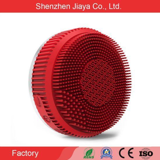 Hot Sale Professional Sonic Electric Silicone Facial Cleansing Brush