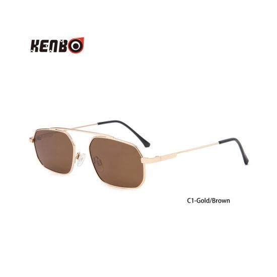 Kenbo New Products 2020 Retro Small Polarized Sunglasses Women Vintage Steampunk Sun Glasses Men