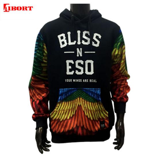 Aibort High Quality Wholesale Unisex Streetwear Pullover Customize Hoodies (Streetwear-1)
