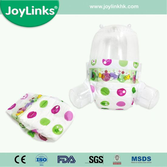 Baby Diapers with SGS/ISO/CE Approved