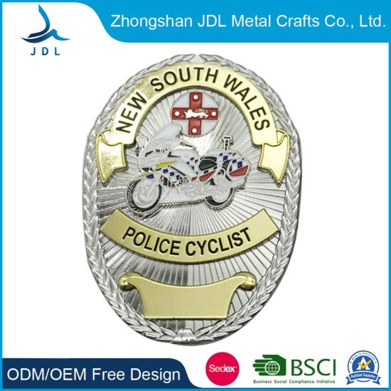 Custom Metal Craft Souvenir New South Wales Police Badge for Officer Use (119)
