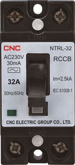 Earth Leakage Breaker RCBO RCCB Circuit Breaker Overload/Short Circuit Protection Nt50