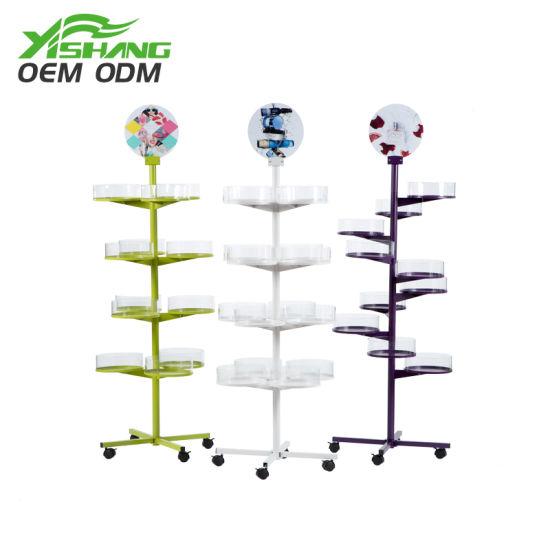Custom Free Standing Metal Product Display