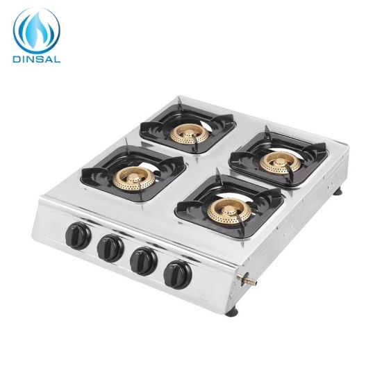 4 Cast Iron Burners Gas Cooker with ABS Knobs (DS-GS401)