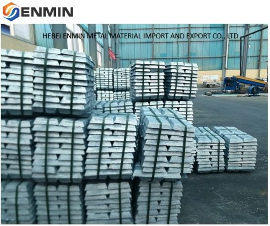 Customized Zinc Ingot Product with Factory Lowest Price