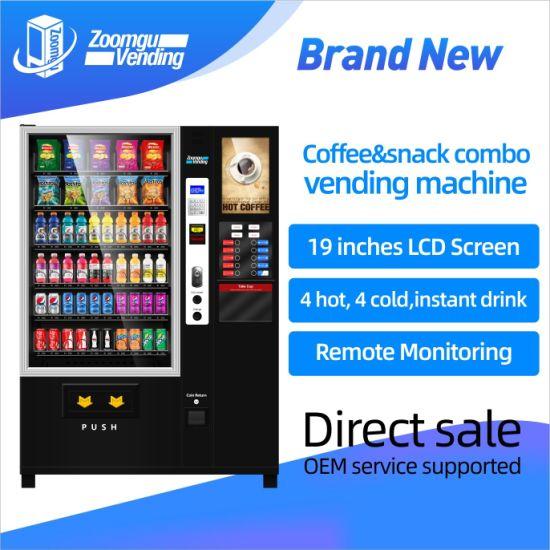 Zg Large Screen Coffee Vending Machine China Manufacturer (60g-C4)