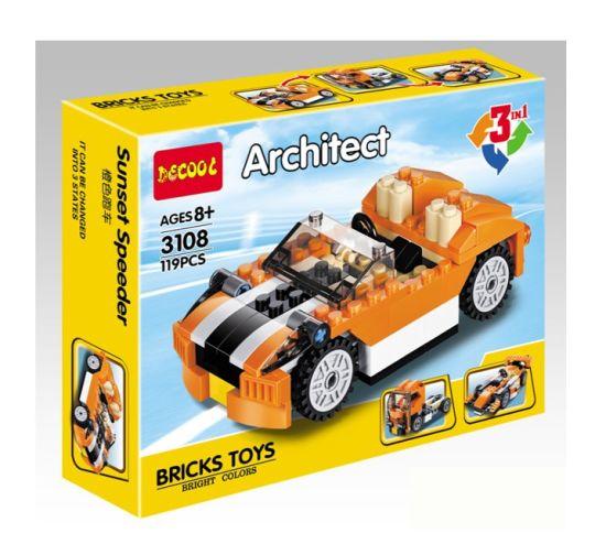 2021 Hot Seling Educational Kids ABS Small Plastic Blocks ASTM En71 Certified