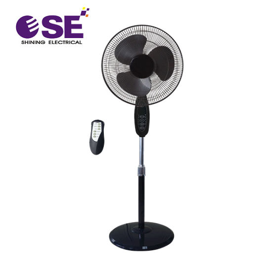 Copper Motor Home Electric 16 Inch Stand Fan with Remote Control