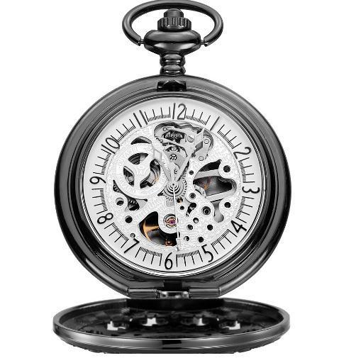 Metal Fashion Classical Quartz Pocket Watch for Gift