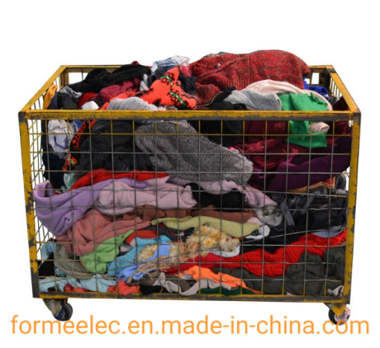 Wool Waste Used Clothes Waste Textiles Recycled Cotton Regenerated Cotton Felt Raw Material