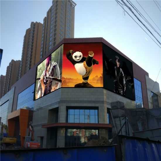 P6 P8 P10 Front Access Smart Outdoor LED Signs LED Screen