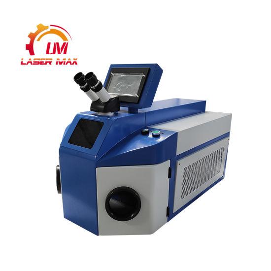 200W Metal jewelry Laser Welding Machine Mini Desktop Laser Welder for Sale