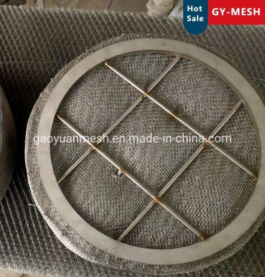 Monel 400/Titanium/Nickel Wire Knitted Wire Mesh Demister