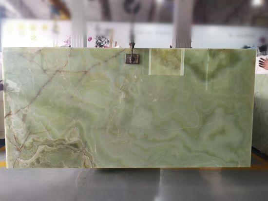 Marble Slabs Stone Olive Green Onyx