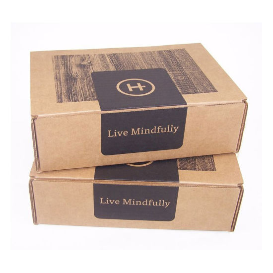 Custom Printed Cosmetics Clothing Mailing Packaging Corrugated Paper Box