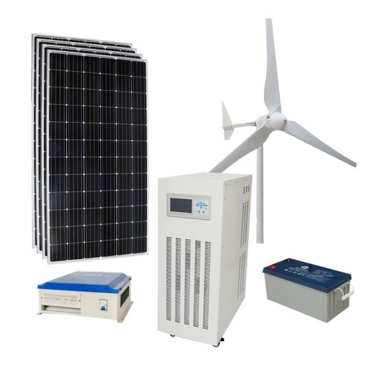 Small Wind Turbine 2kw Hybrid Solar for House