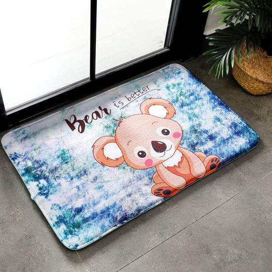 (CHAKME) Wholesale Super Absorbs Non Slip Bathroom Floor Bath Mat Floor Rug
