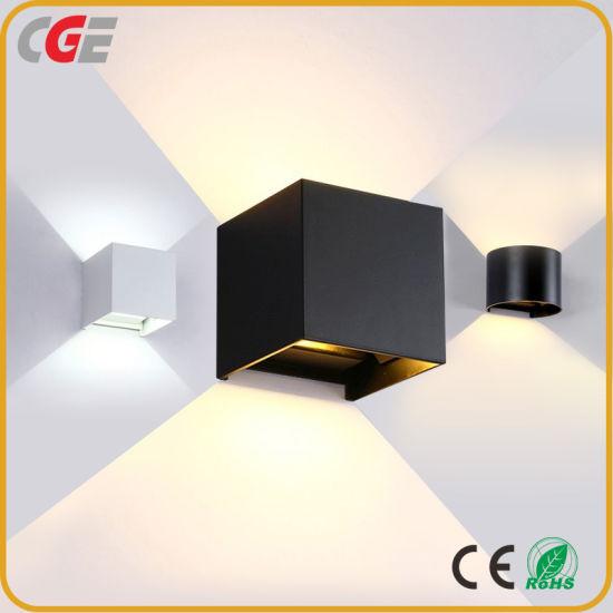 China Led Exterior Wall Lamp Adjule