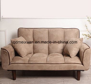 Multi-Function Folding Sofa Sofa Bed Lazy Sofa Couch Couch Rice Cloth Art Sofa Sitting Room Sofa Armrest Bedroom Sofa Bed (M-X3525)