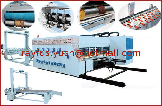 Semi-Auro Flexo Printing Die-Cutting Machine pictures & photos