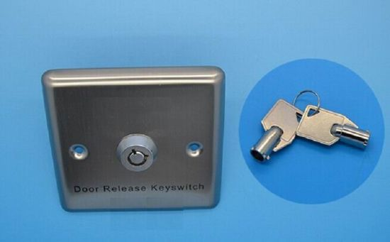 Stainless Steel Wired Key Switch Plate for Emergency