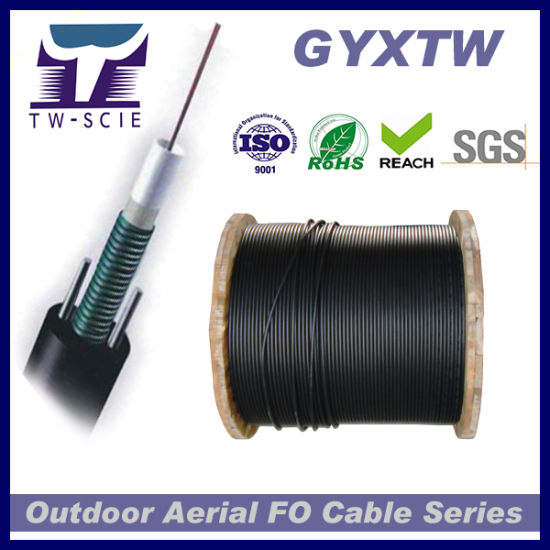 GYXTW Outdoor Aerial 6 Core Single Mode Fiber Optic Cable pictures & photos