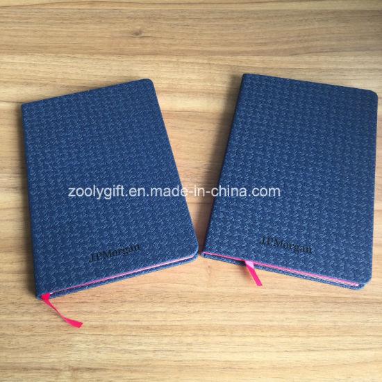 Logo Stamped A5 PU Notebook Customized Moleskine Agenda Notebook