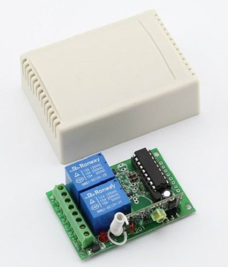 2 Channel Remote Receiver Module with 433 315MHz Frequency