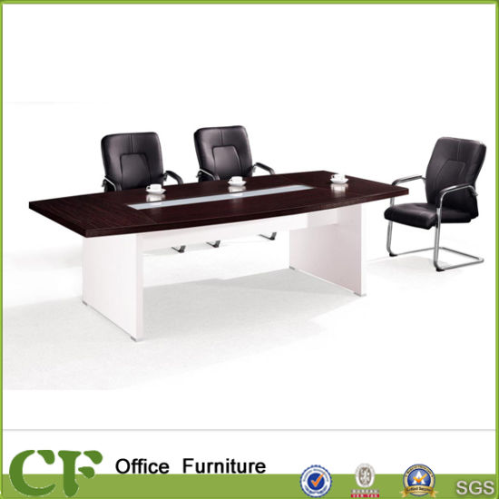 Italy Design High End 45mm Top Wood Office Desk Conference