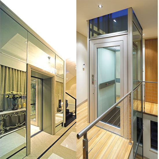 400kg Capacity 0.4m/S Residential Home Lift Villa Elevator pictures & photos